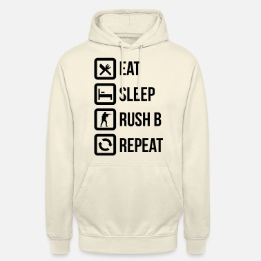 Strike Eat sleep rush bee - Unisex Hoodie