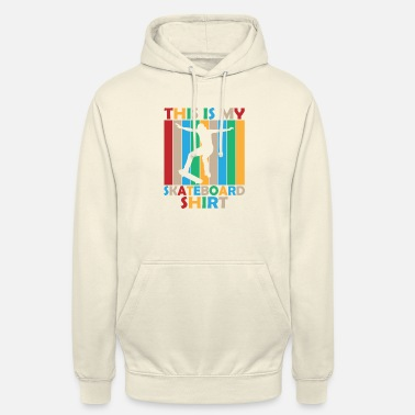Skate This is my skateboard shirt Geschenk Sport - Unisex Hoodie