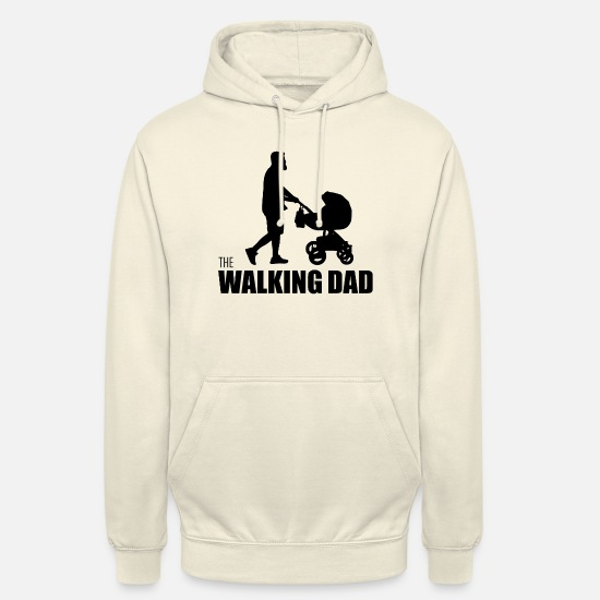 Horror Hoodies & Sweatshirts - Humour walking Dad - Unisex Hoodie vanilla