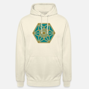 Geometry Cuboctahedron, structure of the universe, Fuller - Unisex Hoodie