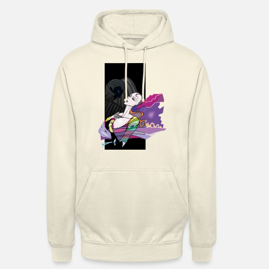 Midnight Hoodies & Sweatshirts - Dreaming - Unisex Hoodie vanilla