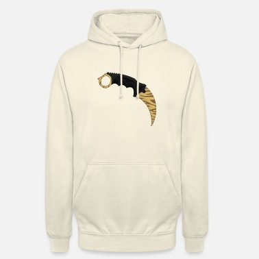 Strike Karambit Tiger tooth - Sweat à capuche unisexe
