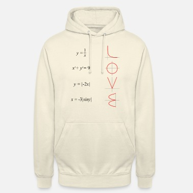 All you need is love math - Unisex Hoodie