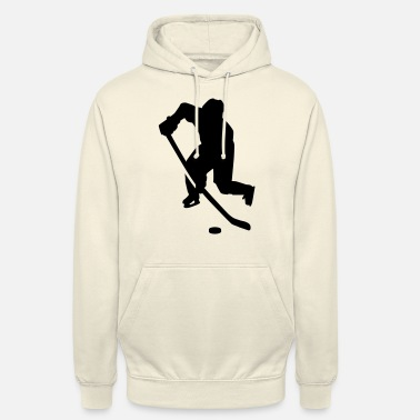 Hockey Sur Glace Hockey sur glace - Sweat à capuche unisexe