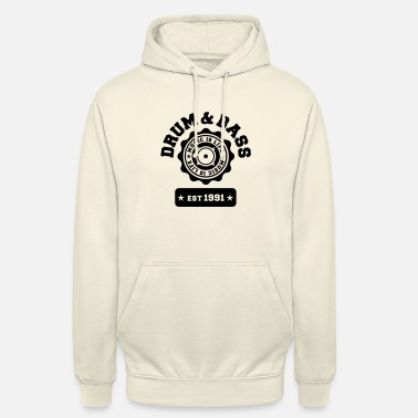 Bass Drum and Bass - Unisex Hoodie
