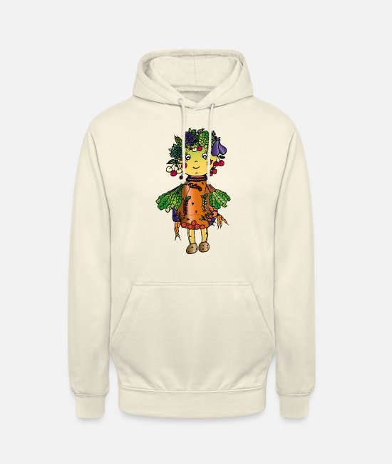 Vegetables Hoodies & Sweatshirts - Regional vegetables - Unisex Hoodie vanilla