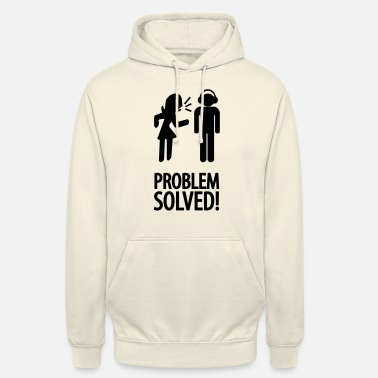 Solved problem solved! - Unisex Hoodie