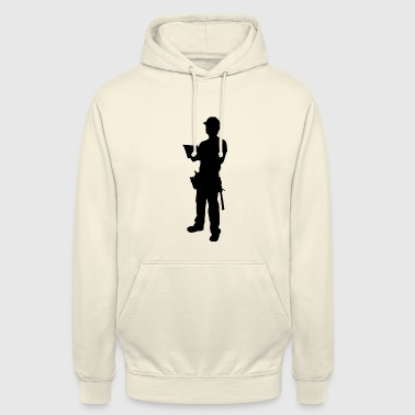 construction worker - Unisex Hoodie