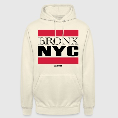Bronx NYC - Sweat-shirt à capuche unisexe