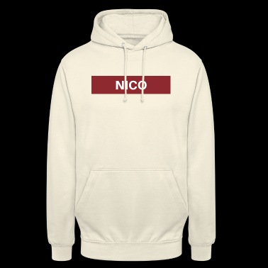 Nico - Sweat-shirt à capuche unisexe