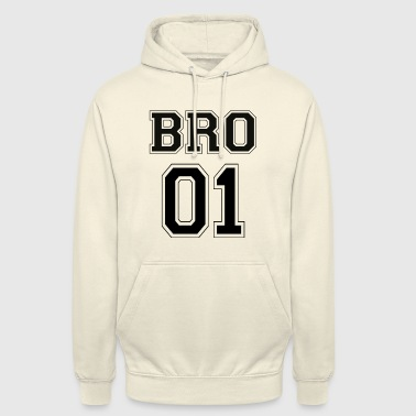 BRO 01 - Black Edition - Sweat-shirt à capuche unisexe