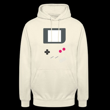 GAMING GAMER ZOCKER BUTTONS & DISPLAY RETRO MOTIV - Unisex Hoodie