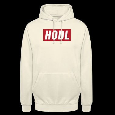HODL Red Trader Digital Currency Blockchain - Unisex Hoodie