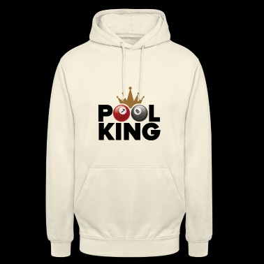 Pool king - Sweat-shirt à capuche unisexe