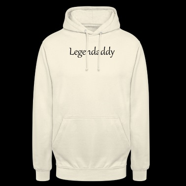 Legendaddy är legendarisk - Luvtröja unisex