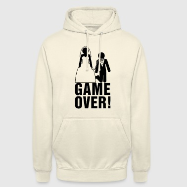 Bachelor party | Bridegroom | Game Over! - Unisex Hoodie
