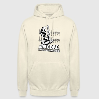Hoacore - Gym Wear Illustrations - Unisex Hoodie