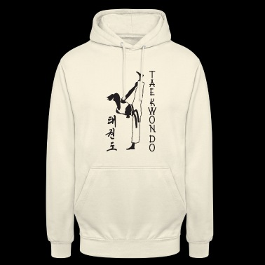 taekwondo girl left 2 3 UK 01 - Unisex Hoodie
