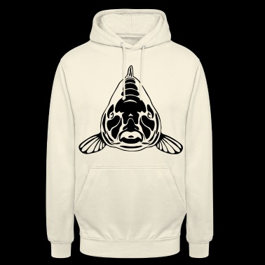 CARP - Sweat-shirt à capuche unisexe