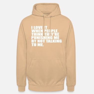 Quotes i love it funny quote - Unisex Hoodie