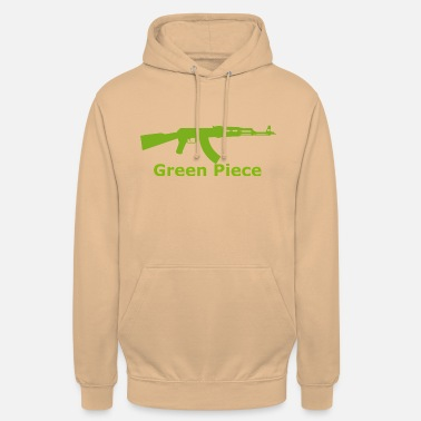 Green Peace AKM Green Piece 01 - Sweat-shirt à capuche unisexe