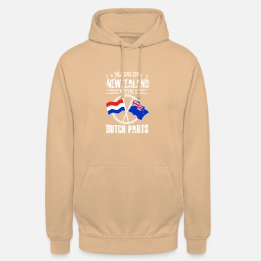 Dutch Made in Newzealand with Dutch Parts - Unisex Hoodie