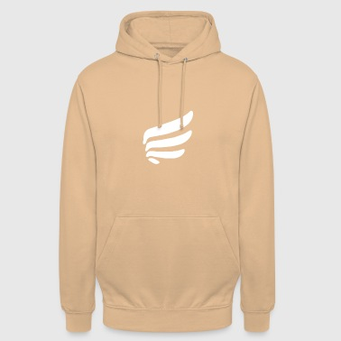 Right wing with 4 springs - Unisex Hoodie