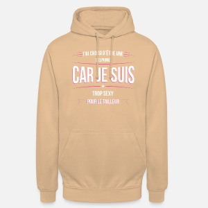 Sweat à capuche unisexe