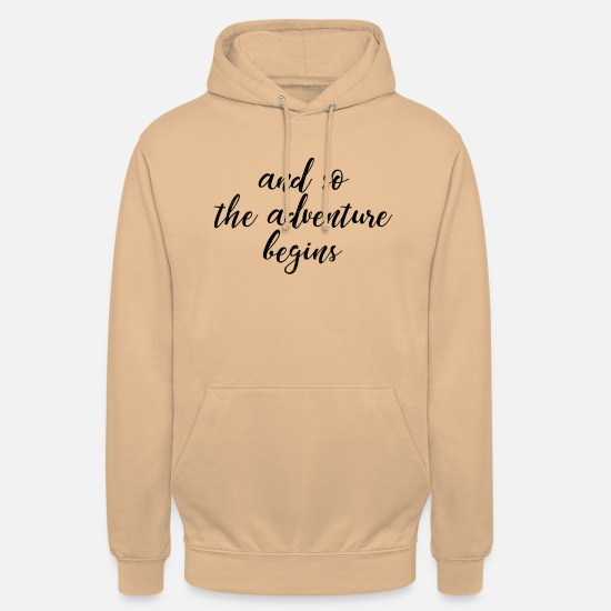 Adventure Hoodies & Sweatshirts - Adventure - Adventure - Unisex Hoodie peach