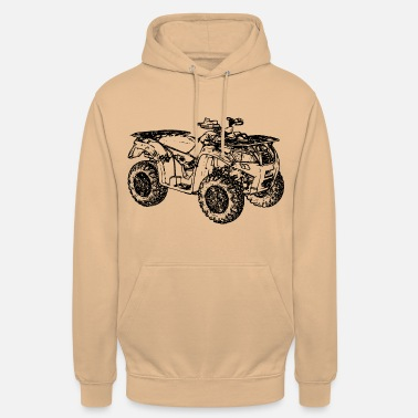 Offroad Vehicles ATV Quad offroad off-road vehicle black - Unisex Hoodie