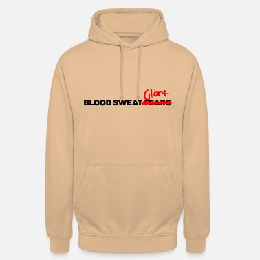 BLOOD SWEAT GLORY black - Unisex Hoodie