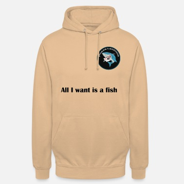 Gaudi all i want is a fish - Unisex Hoodie
