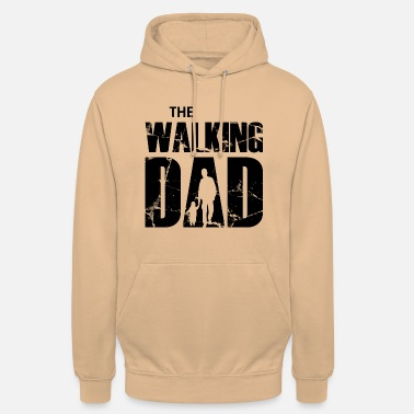 The Walking Dad (zwart) - Unisex hoodie