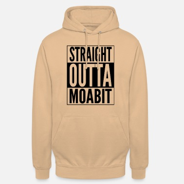 Spandau Straight Outta Moabit district in Berlin - Unisex Hoodie