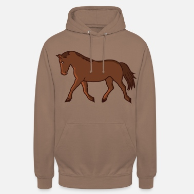 Wild Horse Horse galloping Horse Warmblood Heavyblood - Unisex Hoodie