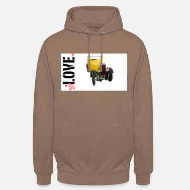 Drive Go By Car I love driving a car - Unisex Hoodie