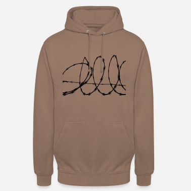 Barbed-wire Barbed Wire - Unisex Hoodie