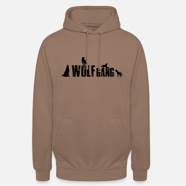 Wolf Gang Wolfgang- Wolf Gang 1 Name oder Tiergruppe? - Unisex Hoodie