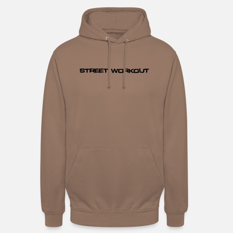 Work Out Hoodies & Sweatshirts - Street workout - Unisex Hoodie mocha