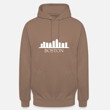 Boston skyline boston - Unisex Hoodie