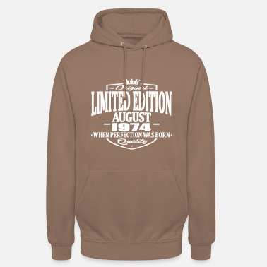 1974 Limited edition august 1974 - Unisex Hoodie