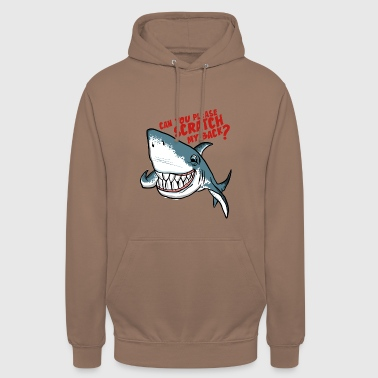 Great White Shark Scratch My Back - Unisex Hoodie