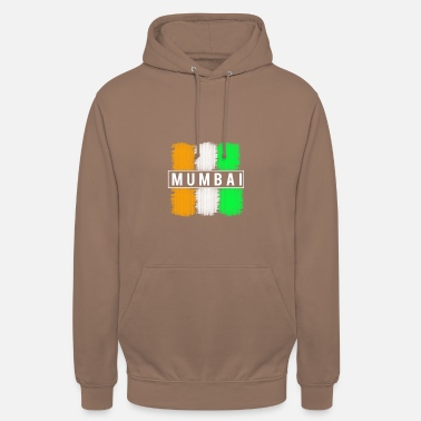 Trendy Mumbai design. Modern and trendy - Unisex Hoodie