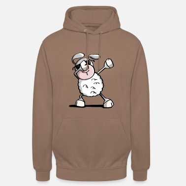Farm Funny Dab Dance Sheep - Dabbing Sheep - Sheep - Unisex Hoodie