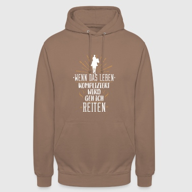 Horse Sayings Horse T-Shirt Gift for rider and rider - Unisex Hoodie