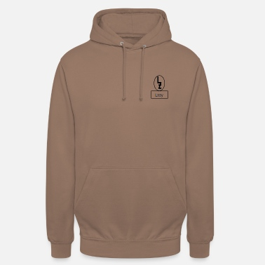 Lazy lazy logo with Lazy - Unisex Hoodie