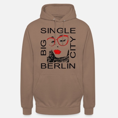 Berlin Singel Big City - Hoodie unisex
