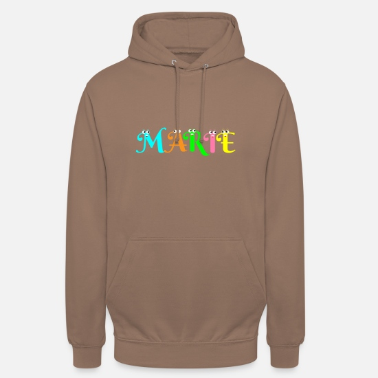 Marie Sweat-shirts - Marie - Sweat à capuche unisexe moka