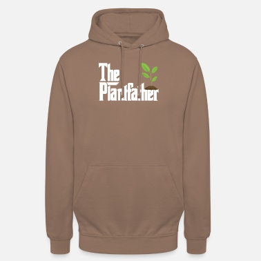 Daddy The Plantfather - Plant Father Gardening Gardener - Unisex hoodie
