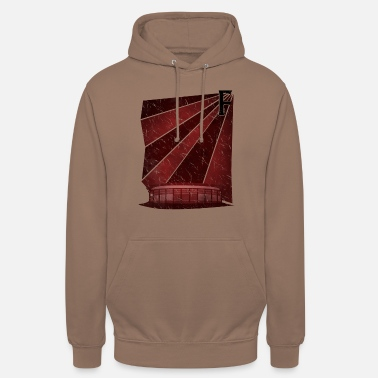Football Stadium Frankfurt football stadium - Unisex Hoodie